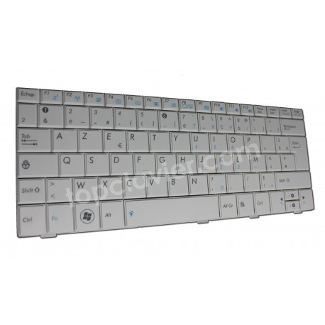 Clavier pour Asus EEE PC - MP-09A36F0-5283 - 04GOA191KFR10-2 - Blanc