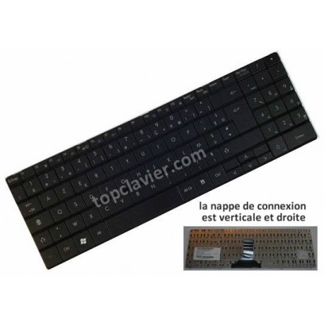 Clavier Packard Bell ML61 ML65 - MP-07F36F0-920 - AEPB5F00010